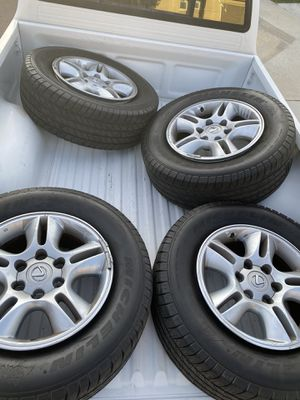 Lexus GX470 wheels and tires for sale ! for Sale in Bonita, CA