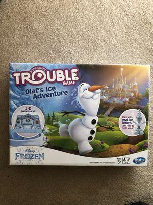 Kids Frozen Trouble Game for Sale in Houston, TX