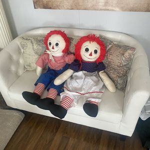Soft Vintage Raggedy Ann & Andy Dolls for Sale in Rockdale, IL