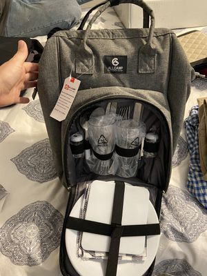 Insulated Picnic cooler/backpack for Sale in Houston, TX