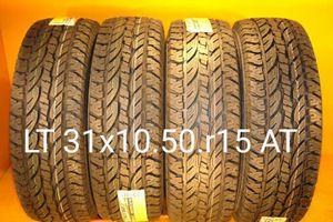 4 New tires LT 31x10.50r15 AT llantas nuevas for Sale in San Diego, CA