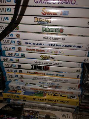 Nintendo Wii U games for Sale in Arlington, TX