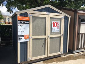 #0566 Tuff Shed 8x8 KR600 Display for Sale in Bellaire, TX
