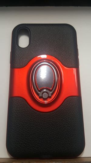 """Case for iphone XR 6.1"""" color red-black new 10firm shiping only for Sale in Phoenix, AZ"""