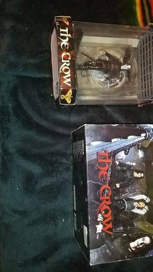 The crow action figures one not open Kool toys collectible for Sale in Casa Grande, AZ