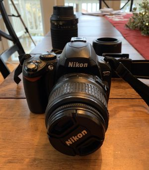 Nikon D40 Camera + Accessories for Sale in Kirkland, WA