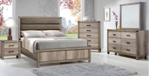 Queen 4 pc bedroom set FREE LOCAL DELIVERY for Sale in Fontana, CA