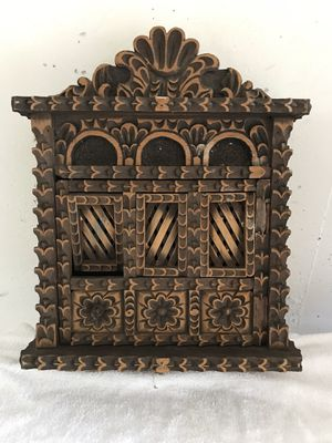 Wall Decoration- Gorgeous Vintage Carved Wood Balcony for Sale in Sunrise, FL