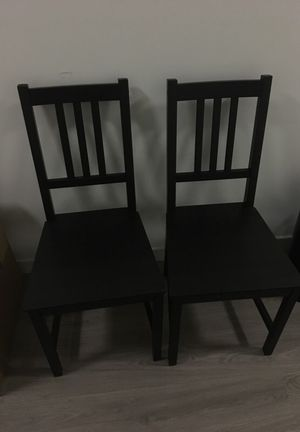 2 wooden chairs for Sale in San Francisco, CA