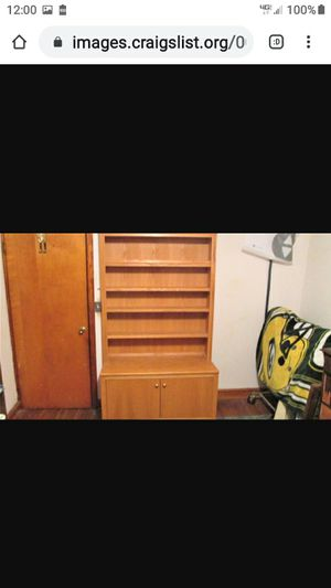 BEAUTIFUL SOLID OAK CABINET for Sale in Lynchburg, VA
