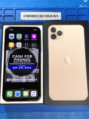 Apple iPhone 11 Pro Max 64gb Unlocked for ANY Carrier APPLE WARRANTY (Gold) 🏆TRUSTED BUYER/SELLER🏆 for Sale in Fresno, CA