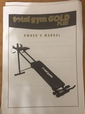 Total Gym Gold Plus with attachments for Sale in Hudson, FL