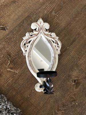 Mirrored wall candle holder (set of 4) for Sale in Newport Beach, CA