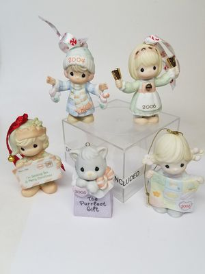 Precious Moments Dated Christmas Ornaments 1998, 2004, 2005, and 2006 (Read Below) for Sale in Phoenix, AZ