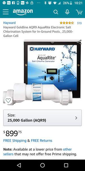 Hayward Goldline AQR9 salt chlorine generator NEW for Sale in New Orleans, LA