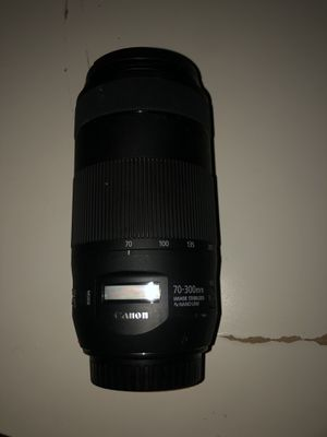 Canon EF Telephoto Zoom 70-300mm F/4.0-5.6 IS II USM for Sale in Berkeley, CA