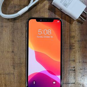 IPhone X Unlocked 64gb for Sale in Lynnwood, WA