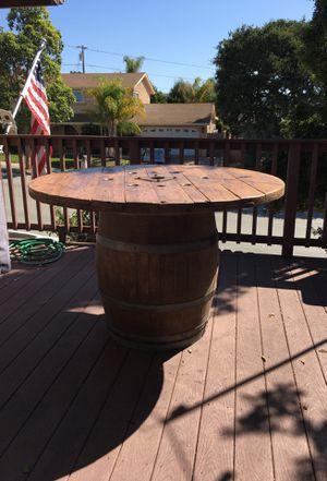 Custom wine barrel table for Sale in Grover Beach, CA