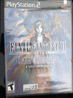 Final Fantasy XI Chains of Promathia PS2 - Expansion Pack for Sale in Sudley Springs, VA