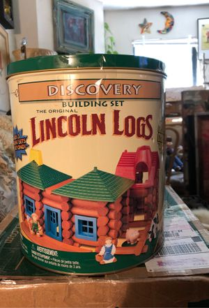 Lincoln logs vintage set for Sale in Grand Prairie, TX