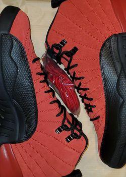 "Jordan 12 ""Reverse Flu Game"" Size 9 for Sale in Philadelphia,  PA"