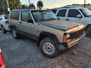 Xj Jeep Cherokee red 2d 4.0 for Sale in Riverview, FL