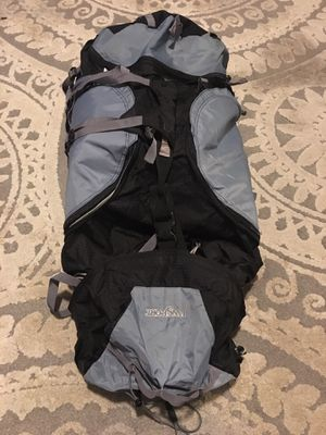 JANSPORT H20 HIKING BACKPACK JUNO 68 GRAY BLACK internal frame – very good condition for Sale in San Mateo, CA