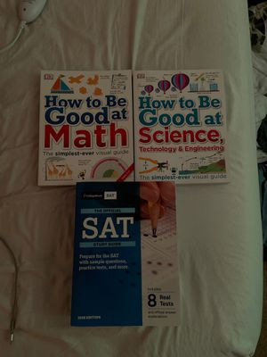 2020 SAT prep book & other studying books for Sale in Friendswood, TX