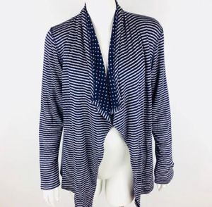 Market & Spruce Margerie Stripe & Dot Open Cardigan in excellent condition (pick up only) for Sale in Alexandria, VA