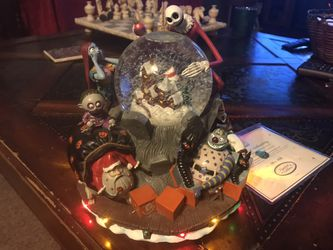 Limited edition 1993 Nightmare before Christmas snow globe for Sale in Seattle,  WA