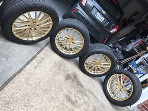 KMC Gold rims new 5x120 (only rims) for Sale in Rosenberg, TX