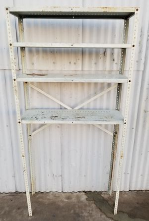 Metal Rack stand with 4 steel shelves for garage shop for Sale in Phoenix, AZ