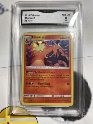 Charizard Dragon Majesty GMA 8 for Sale in Ontario, CA