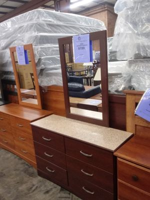 Briar Dresser with Mirror for Sale in Greensboro, NC