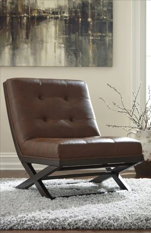 Brand New Sidewinder Brown Accent Chair for Sale in Houston, TX