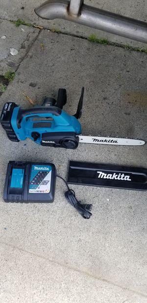 Makita 36v chainsaw for Sale in San Jose, CA