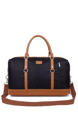 Ulgoo Weekend Duffel Bag Waterproof Nylon Overnight Travel Bag (Large Black) for Sale in Kansas City, MO