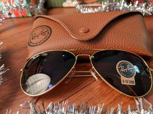 Brand New Authentic Rayban Aviator Sunglasses for Sale in Palos Verdes Estates, CA
