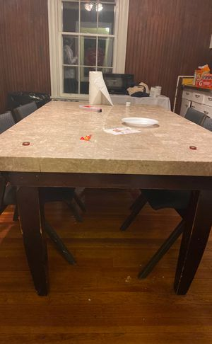Nice stone kitchen table for Sale in Richmond, VA