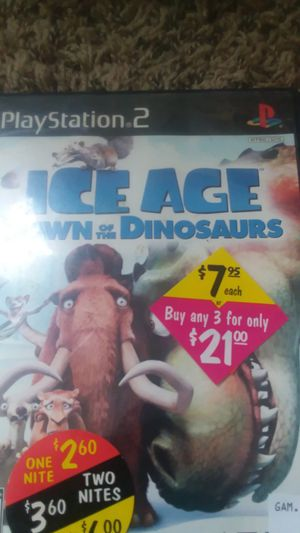 Ice age dawn of the dinosaurs for Sale in Traverse City, MI