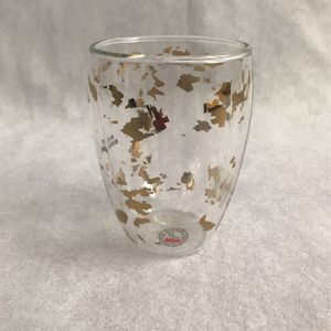 Starbucks 2013 Glass Double Wall Gold Fleck 12oz for Sale in Chula Vista, CA