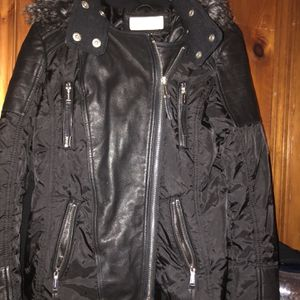 Michael Kors Leather Jacket for Sale in Southbury, CT
