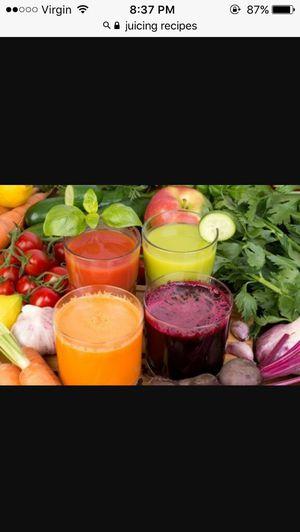 nutritious organic handmade juices for Sale in Alexandria, VA