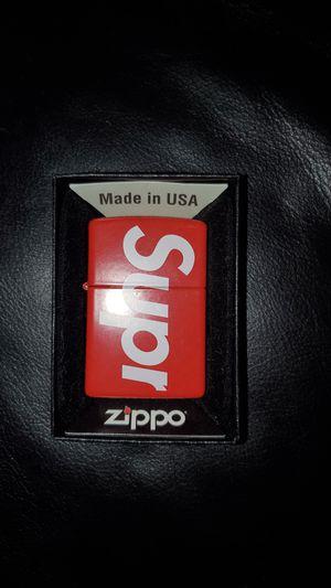 Rare Supreme zippo. Collectible for Sale in Chicago, IL