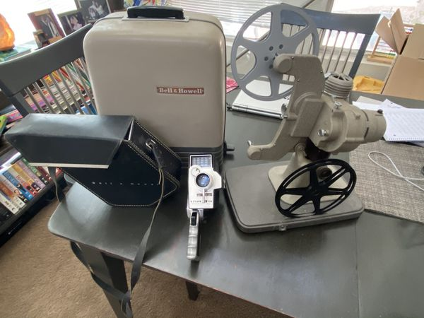 Bell & Howell projector and Camera