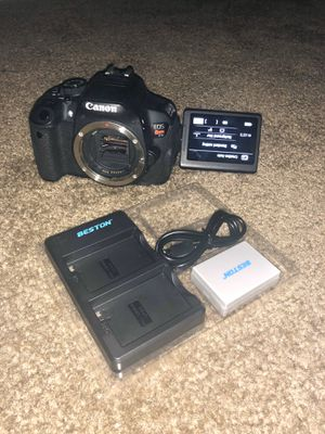 Canon t5i $350 cash no holds for Sale in Los Angeles, CA