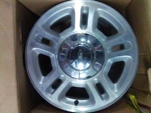 BRAND NEW SHINY ALUMINUM ALLOY FORD RIMS! for Sale in Seattle, WA