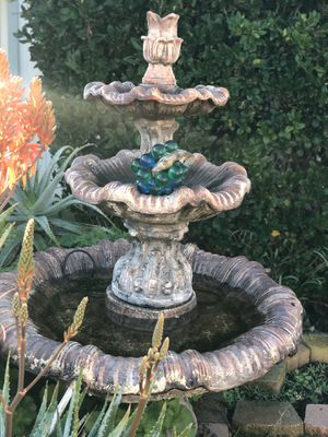 Three tier fountain for Sale in San Diego, CA