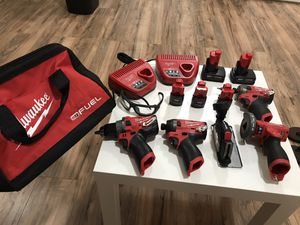 Milwaukee m12 tools for Sale in Los Angeles, CA