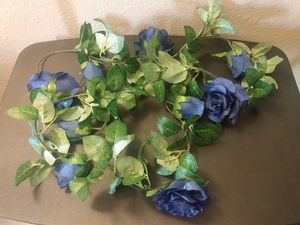 Greenery with Blue Roses for Sale in Phoenix, AZ